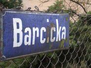 Barcicka (stara tabliczka)