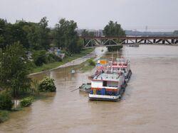 Wybrzeże Kościuszkowskie (fala powodziowa)
