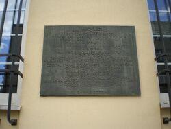 Stawki (tablica pamiątkowa, powstanie warszawskie)