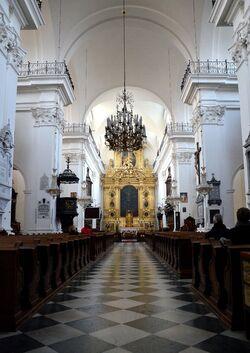 Kościół św. Krzyża wnętrze.JPG