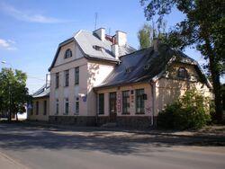 Otwock (stacja kolejki wąskotorowej na Wawerskiej)
