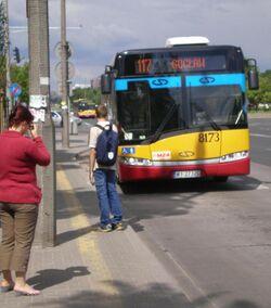 Dolina Służewiecka (autobus 117).JPG