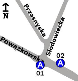 Powązki-IV Brama