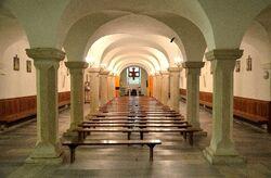 Dolny kościół kościół św. Krzyża