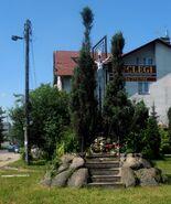 Modlińska, Konwaliowa (kapliczka)