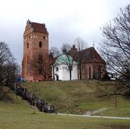 Kościół Nawiedzenia NMP (Przyrynek, od skarpy