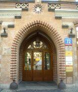 Marszałkowska (budynek nr 72, brama)