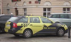 Podwale (samochód TVN Warszawa)