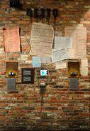Mur getto Muzeum Powstania Warszawskiego