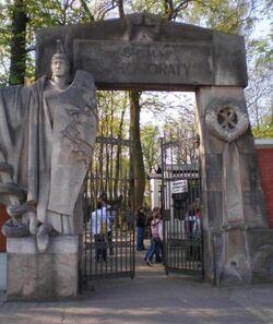 Cmentarz Powązkowski (Brama św. Honoraty).JPG