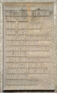 Tablica Jan Bułhak ul. Krasińskiego 18