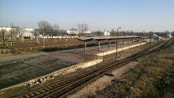 Warszawa Praga drugi peron