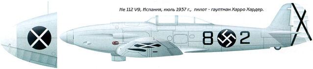 File:15 He112B-0 Spainish Nationalist Condor Legion.jpg