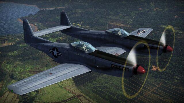 File:Twin Mustang.jpg