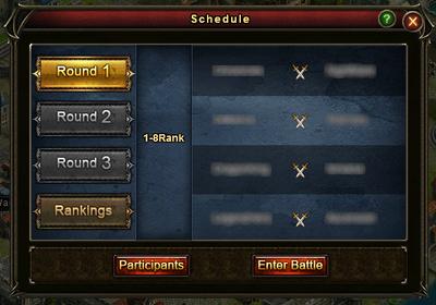 Guild Battle Schedule