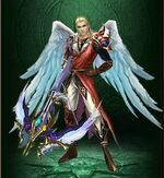 Wings celestial angel