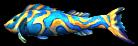Fashion Shard Fish