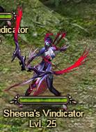 Sheena's Vindicator