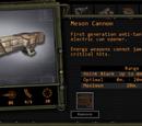 Meson Cannon