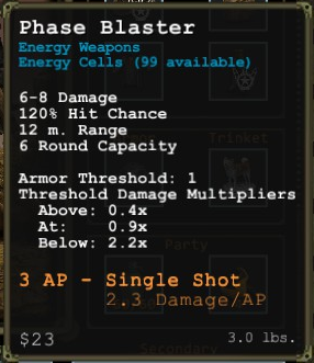 PhaseBlaster Mouseover