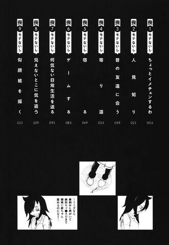 File:WataMote Manga v01 contents.jpg