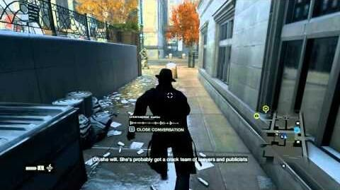 Watch Dogs Walkthrough - Part 142 - Privacy Invasion Fixer Contract (Data Leech)