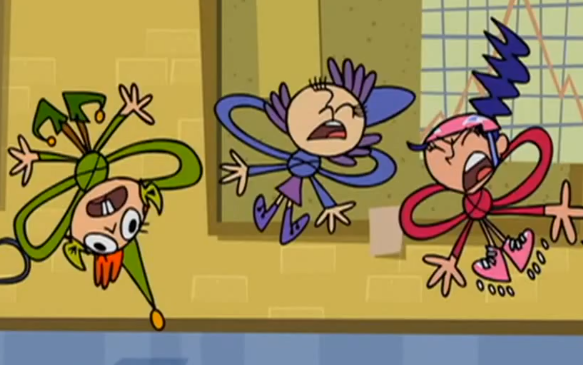 File:Shari, Maurecia, and Stephen in knots.PNG