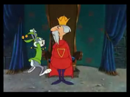 Bugs bunny telling Arthur that a fool would go after the sword