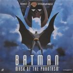 Batman Mask of the Phantasm Laserdisc