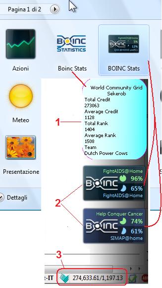 Gadget screenshot 1