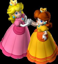 547px-Princess Peach and Princess Daisy - Mario Party 7