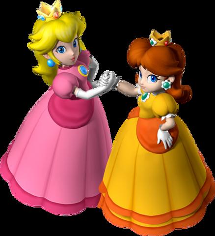 File:547px-Princess Peach and Princess Daisy - Mario Party 7.png