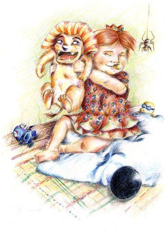 File:Baby Daisy and Gao.jpg