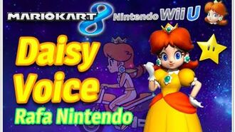 Mario Kart 8 -Daisy- Voice ✿ ❀