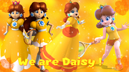 We Are Daisy banner by Princess Daisy ding dong