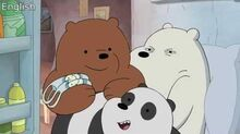 CN RSEE - We Bare Bears Censorship - Emergency (S01E18)