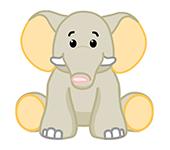Velvety Elephant
