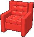 Rockin' Red Lounge Chair