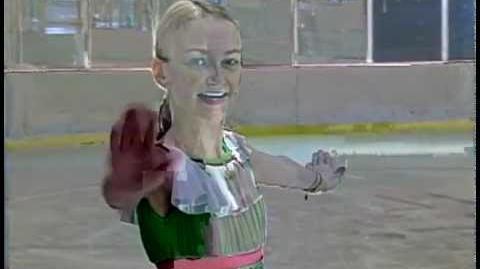 Shayana Hopkins Skating Competition