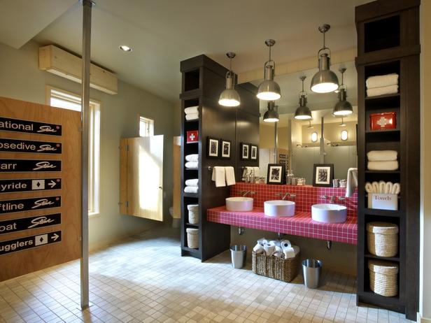 File:Dorm-Bathroom-Sinks-Storage-Signs-The-Varmont-Mountain-Lodge.jpg