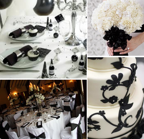 Black-white-winter-wedding-colors-themes