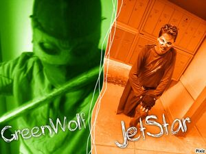 Jet Star and Green Wolf