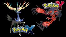 Pokemon xy legendaries wallpaper