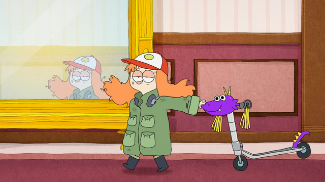 File:S1E1 Saraline with Scooty McDragonface.png