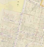 Tasman Street - Section 715 - 1892 Survery Map WCC
