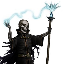 Lich portrait