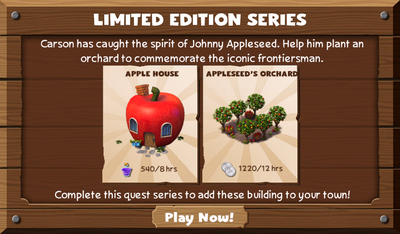 Heed the Appleseed