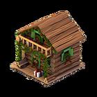 Le083 christmas cabin house market