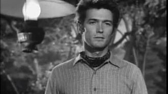 Rawhide - The Pitchwagon - Clint Eastwood singing 'Beyond the Sun'