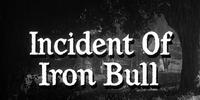 Incident of Iron Bull